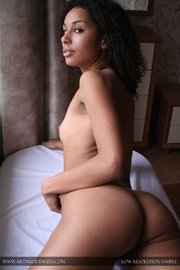 Natural Hot Ebony Beauty