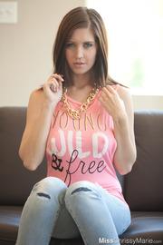 Cute Brunette Chrissy Marie