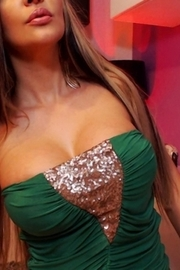 Jessy Jo Skimpy Green Dress