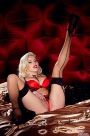 Spencer Scott Is Gorgeous Pinup Model
