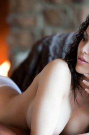 Katie Banks White Stockings