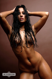 Anetta Hot Assed Nude Beauty In Studio