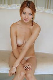 Pretty Redhead Kika