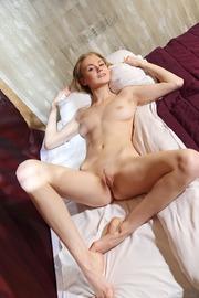 Mischievous Blonde Beauty Nancy A