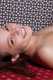 Russian beauty Nikia A does cute like no one else
