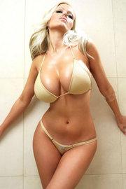 Malene Espensen Big Tits From Tight Bikini
