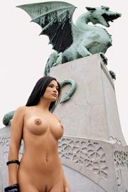 Playboy Girl Michaela Grauke Outdoor Gallery