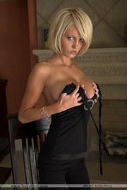 Hannah Hilton Black Dress