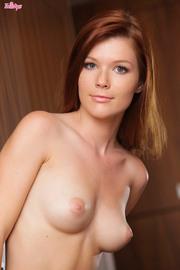 Mia Sollis Gorgeous Natural Redhead Babe