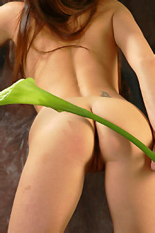 Natural Nude Beauty Babe Indiana A In Flower
