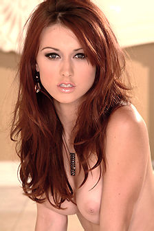 Karli Montana Hot Natural Redhead Beauty
