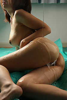 Suzune Toujou Oil Pleasure