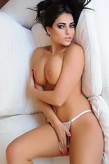 Charlotte Springer Cradles Plush Boobs
