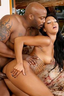 Sexy Black Ebony Pounded Behind