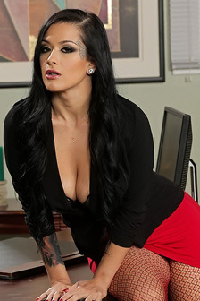 Katrina Jade Stripping In Her Office