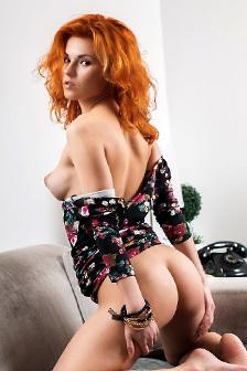 Redhead Rada P Stripping