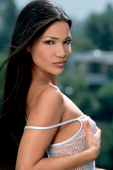 Exotic Perky Titty Babe Adrianna Sage