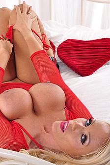 Busty Blonde Lucy Zara