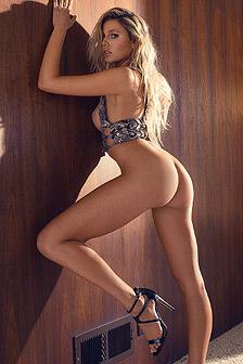 Gorgeous Blonde Monica Sims