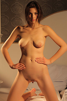 Audrey Posing Naked