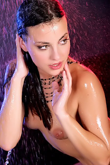 Lorena B Sexy Brunette In Water