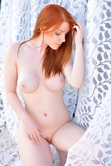 Busty Redhead Fi Stevens