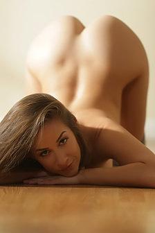 Cassidy Klein Strips Off Her Pink Bodysuit