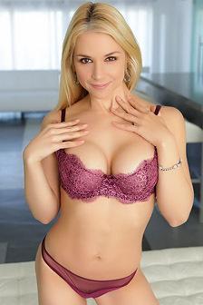 Sarah Vandella Strips Off Her Sexy Lingerie