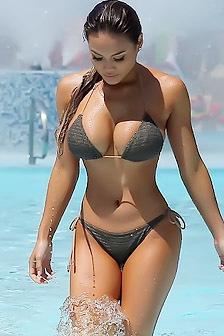 Daphne Joy Busty Bikini Babe