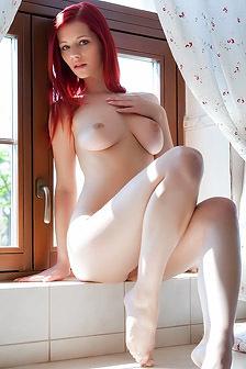 Sexy Red Flower Ariel